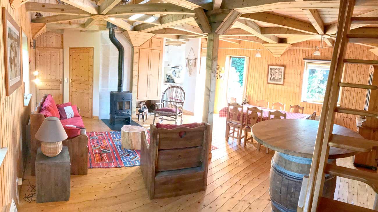Cottage insolite à dabo