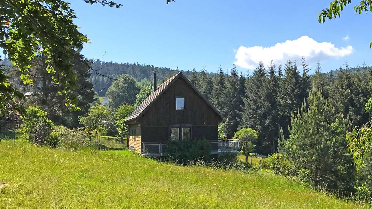La Cabane du Trappeur, un gite nature en Alsace