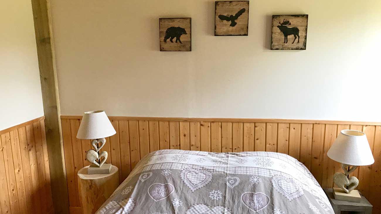 Chambre Ours - Cabane du Trappeur